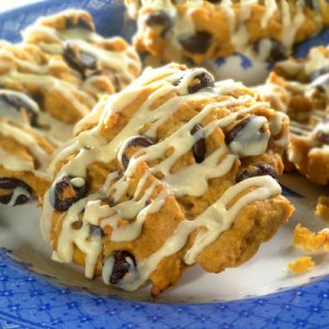 Pumpkin Raisin Oatmeal Cookies