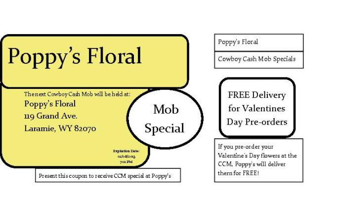 Poppy's Coupon