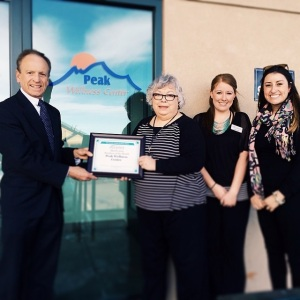 Congratulations to Peak Wellness Center for being the Business of the Month