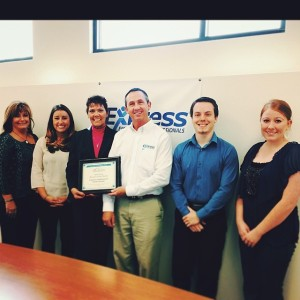 Congratulations to the April Business of the Month, Express Employment Professionals!