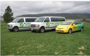 Image from http://www.greenrideco.com/. This was the starting fleet for Green  Ride Colorado