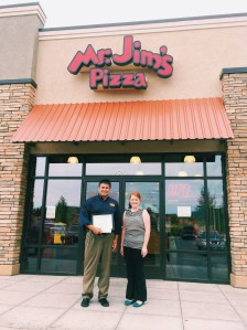 Mr. Jim's Pizza Business of the Month (July)